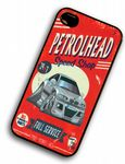 KOOLART PETROLHEAD SPEED SHOP Silver BMW 3 Series E46 M3 hard Case For iPhone 4 4S